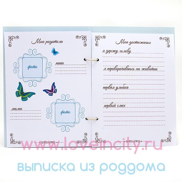 Своими руками дневник для малыша