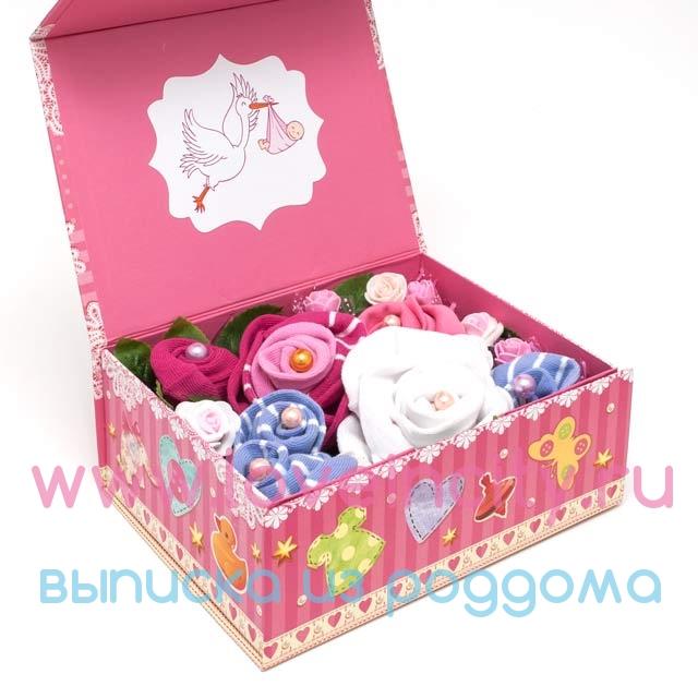 Подарочная коробка для детского подарка 85