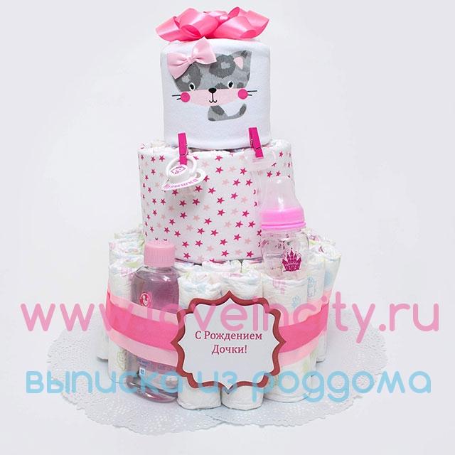 Торт на рождение дочки своими руками 199
