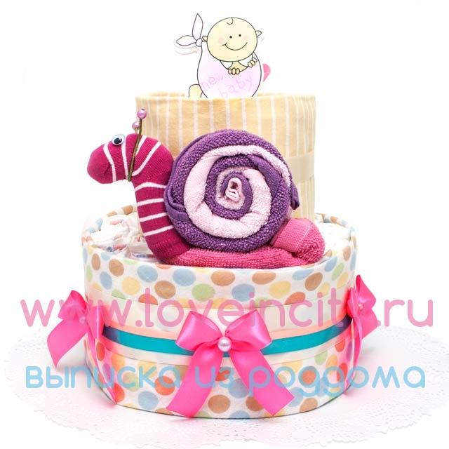 Торт из подгузников картинки